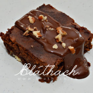Chocolate Coconut Flavour Brownies.