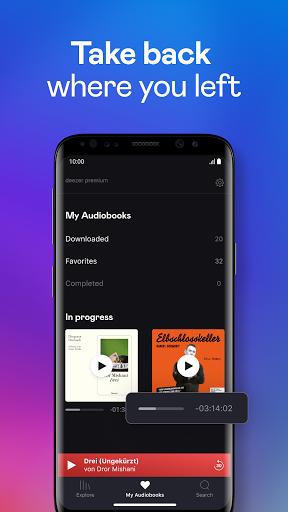 Audiobooks by Deezer screenshot 3