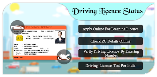 learning license status