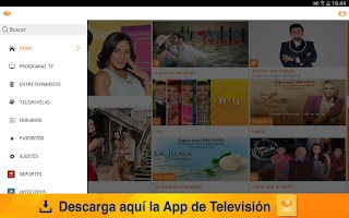 Screenshot of Televisión para Android