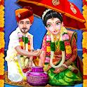 Indian Wedding Girl Big Arranged Marriage Game icon