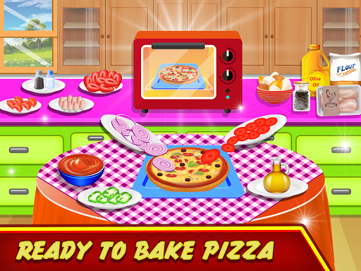 Pizza Maker Kitchen Cooking Mania android2mod screenshots 14