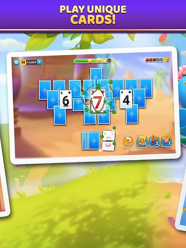 Puzzle Solitaire - Tripeaks Escape with Friends 9.0.0 screenshots 8