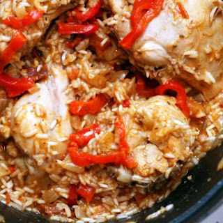 Arroz Con Pollo (Cuban Chicken with Rice).