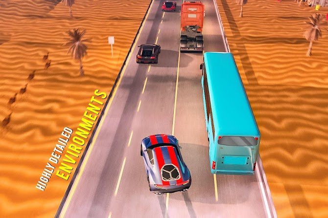 ?️ Traffic Car Highway Rush Racing Android 19