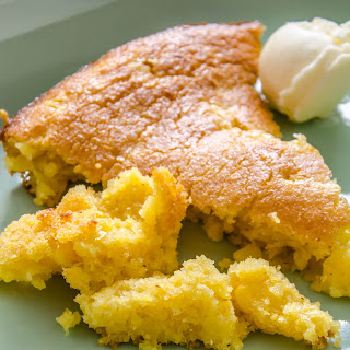 Not Your Sweet Mama's Skillet Corn Bread.