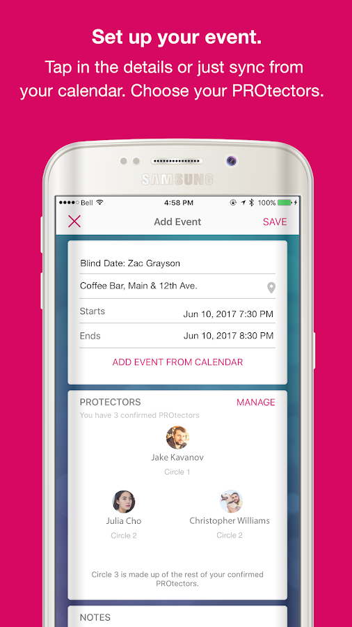 PROtect: For Smart & Simple Personal Safety- screenshot