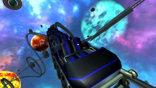 Intergalactic Space Virtual Reality Roller Coaster 3