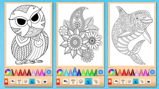 Mandala Coloring Pages filehippodl screenshot 6