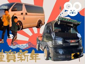 ハイエースバン 23年式 DX  4WDのカスタム事例画像 ⭐️星⭐️ 和尚❤️【不正改造車保存会】さんの2020年01月01日02:44の投稿