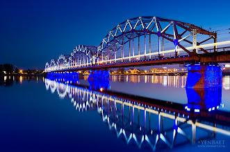 Photo: Railway Bridge | Dzelzceļa Tilts - Riga, Latvia. © Yen Baet | www.YenBaet.com. All Rights Reserved.