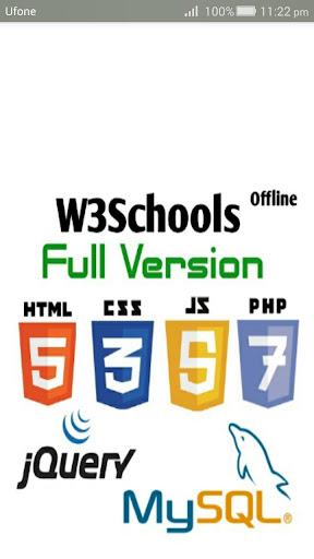 W3Schools Fullversion Offline