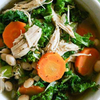 White Bean, Turkey, and Kale Soup