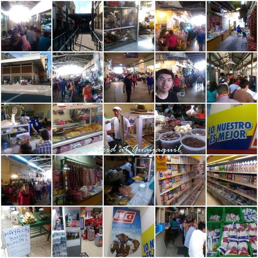 來瓜亞基爾中央市場大啖美食!