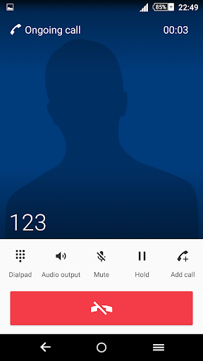 Pattern Blue Theme For Xperia screenshot 4