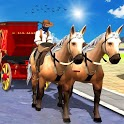 City Horse Taxi Offroad Driver:Passenger Transport icon