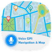 Voice GPS Navigation & Map