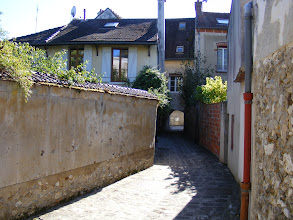Photo: This archway marks one of the few remnants of the medieval ramparts.