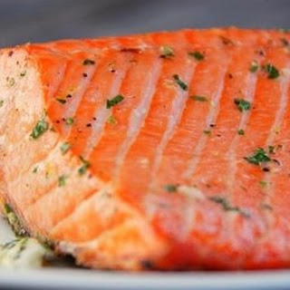 Salmon on the Grill with Lemon Butter Recipe