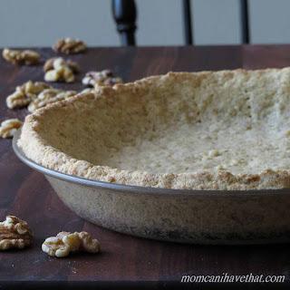 Low Carb Walnut Pie Crust.