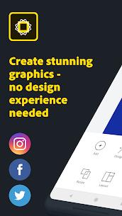 Adobe Spark Post Pro v6.0.0 MOD APK – Graphic Design 1