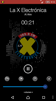La X Electrónica 103.9 FM - screenshot