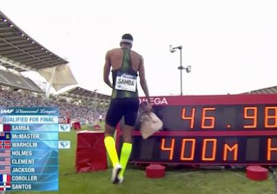 Meeting de Paris : Abderrahman Samba brille et s'offre la meilleure performance mondiale de l'année au 400m haies