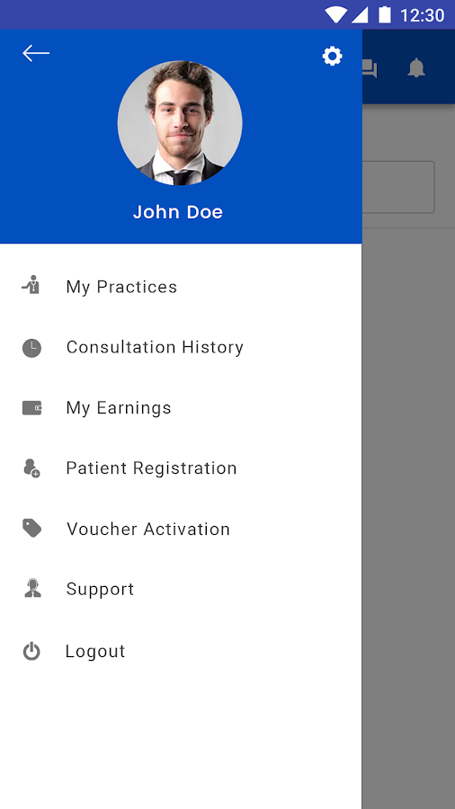 DrLive Rounds - The Doctor App- screenshot