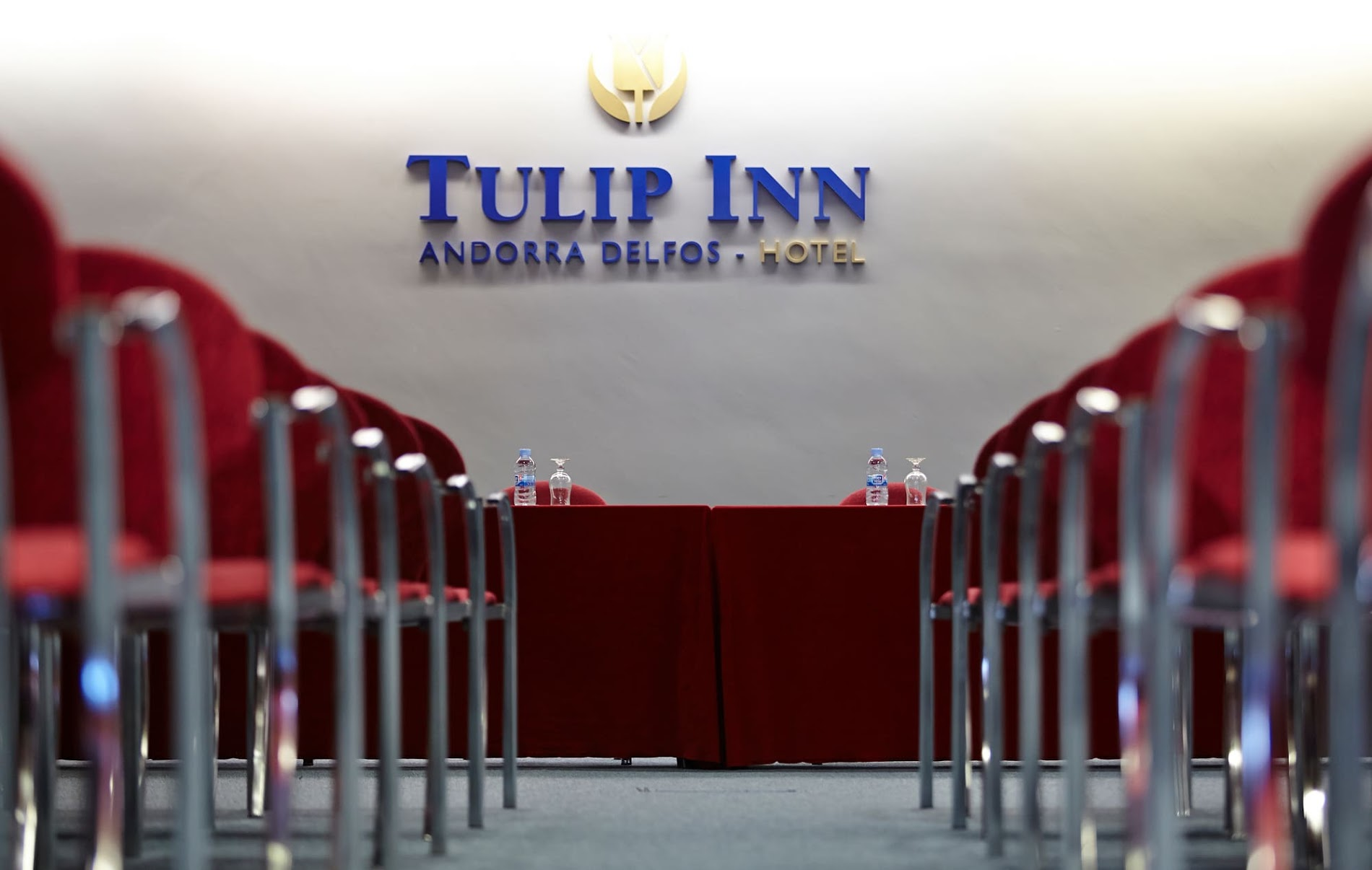 Sala para eventos y reuniones de empresas cerca de Caldea