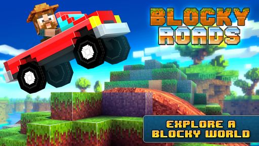 Blocky Roads screenshot 6