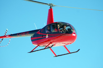 Photo: Robinson R44 C-GBTE