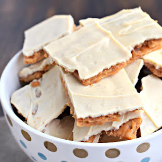 Peanut Butter Cracker Toffee