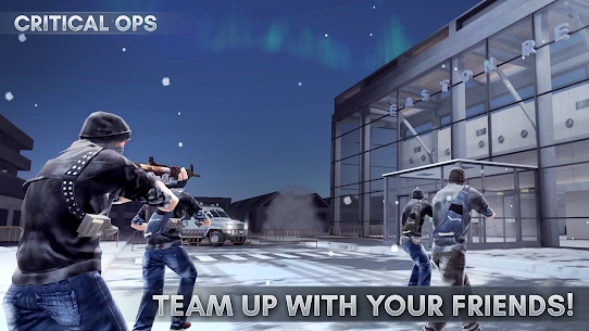 Critical Ops Mod 1.20.0.f1200 Apk [Unlimited Ammo] 1