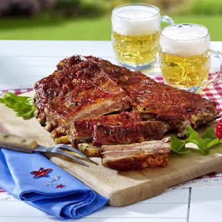 Tangy Pork Spareribs.