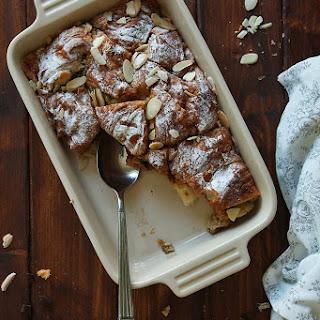 Nutella Croissant Pudding.