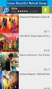 Mehndi Songs & Dance Videos screenshot 2