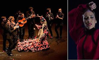 Anabel Veloso en la Bienal de Flamenco de Sevilla