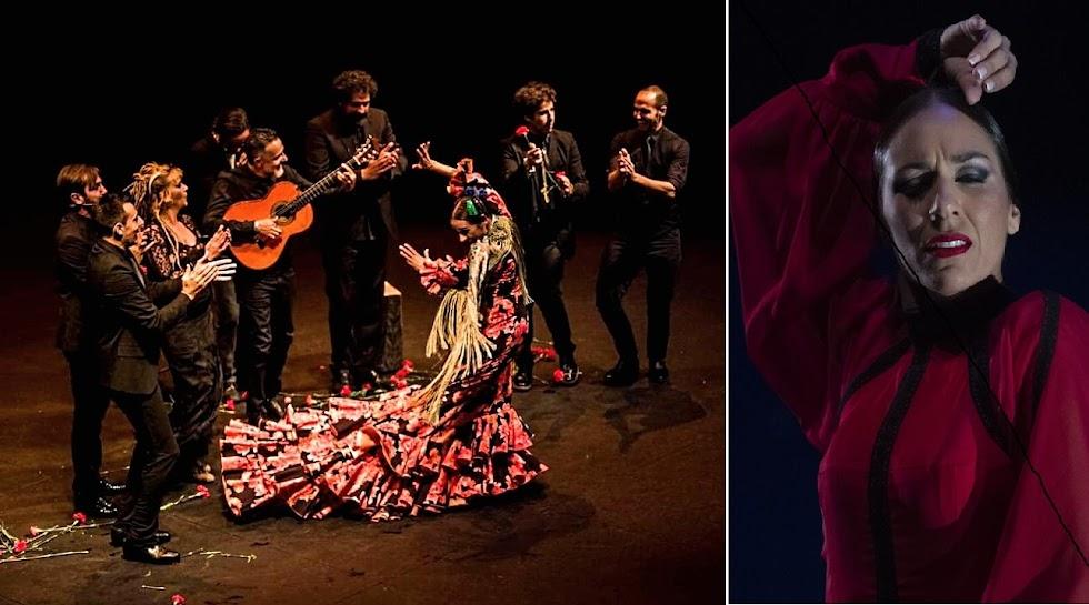 Anabel Veloso en la Bienal de Flamenco de Sevilla. Fotos Claudia Ruiz Caro / Vanessa Gómez