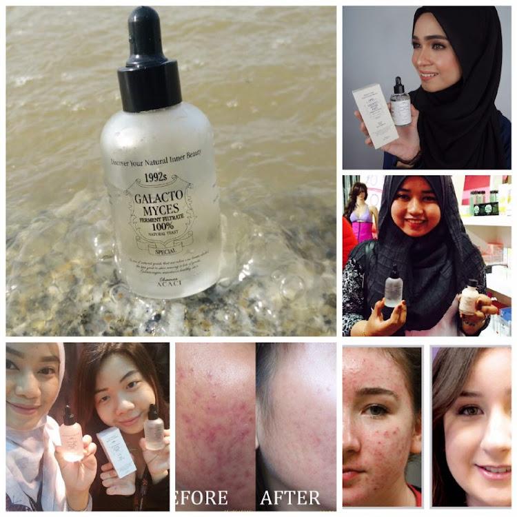 Korean Travel Skincare Set 3pcs (cleanser,toner,moisturiser) Raya Edition SK 2 Alternative (Set A)