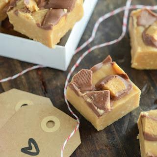Microwave Peanut Butter Cup Fudge Recipe
