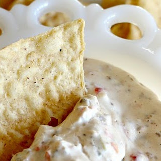 CREAM CHEESE SAUSAGE DIP, THE HIT OF THE PARTY!.