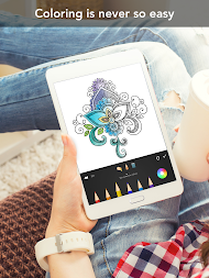 Mandala Coloring Book APK Screenshot Thumbnail 11