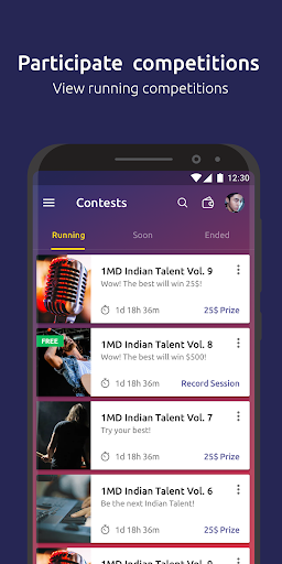 1MD Talent- singing contest, sing with your friend 2.0.2 screenshots 1