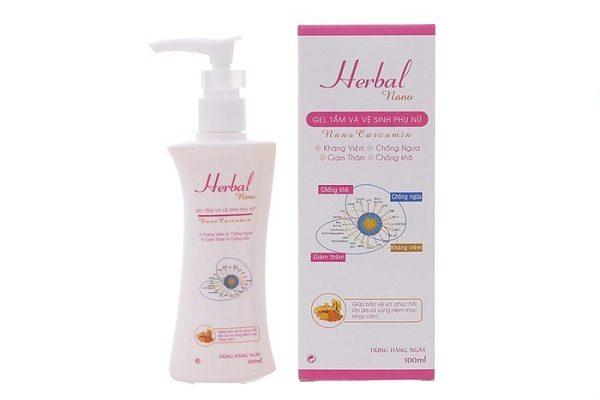 Dung dịch vệ sinh phụ nữ Herbal Nano