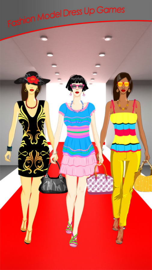 Fashion Model Dress Up Games Android Apps On Google Play
