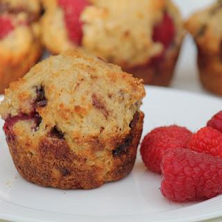 Raspberry Nutella Muffins