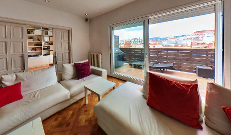 Appartement contemporain avec terrasse Barcelone