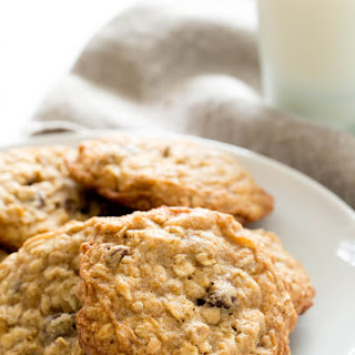 Thick and Chewy Gluten Free Oatmeal Cookies
