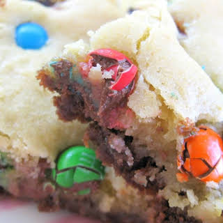 Double-Decker Confetti Brownies.