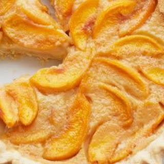 Grammy's Peach Custard Pie.